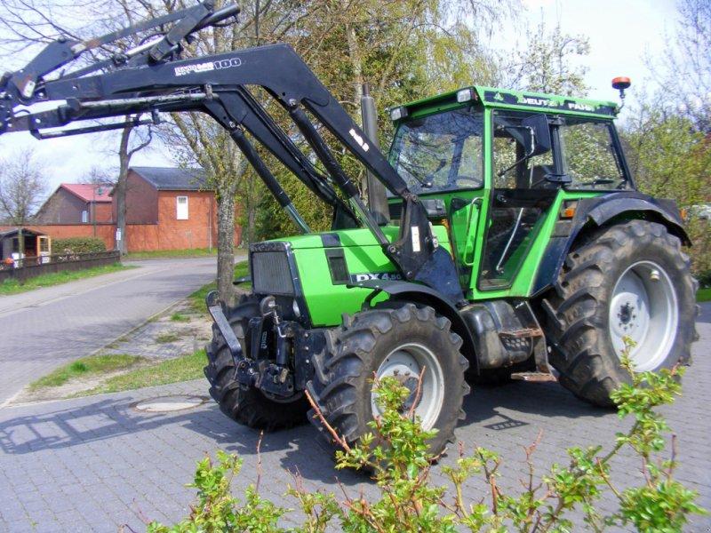 Traktor типа Deutz-Fahr Dx 4.50 Frontlader+Fronthydraulik+40 Kmh, Gebrauchtmaschine в Kutenholz (Фотография 1)