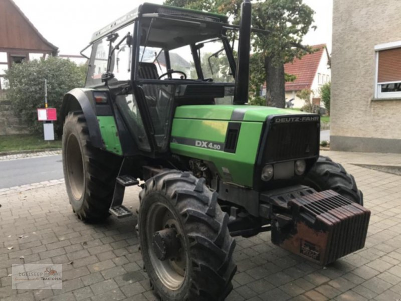 Traktor des Typs Deutz-Fahr DX 4.50, Gebrauchtmaschine in Fürth / Burgfarrnbach (Bild 1)