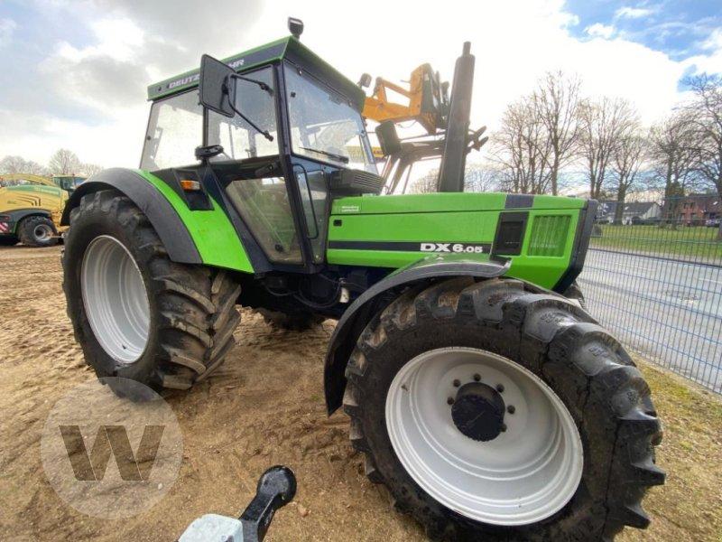 Traktor des Typs Deutz-Fahr DX 6.05, Gebrauchtmaschine in Husum (Bild 8)