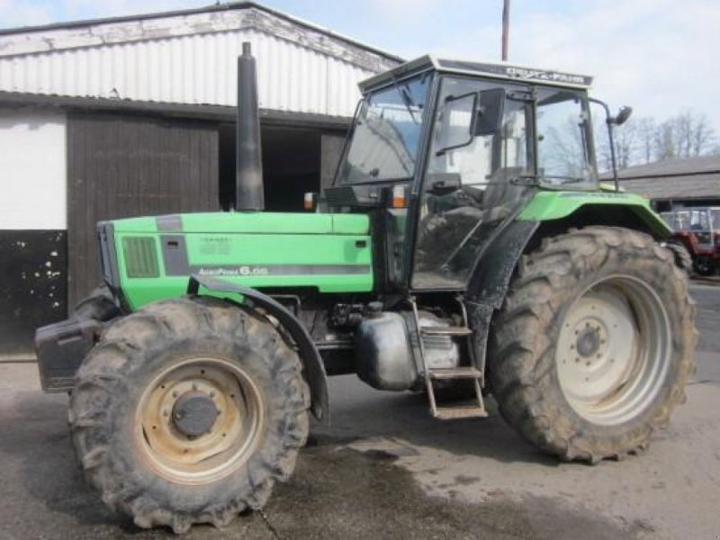 Traktor a típus Deutz-Fahr DX 6.06, Gebrauchtmaschine ekkor: Ziegenhagen (Kép 1)