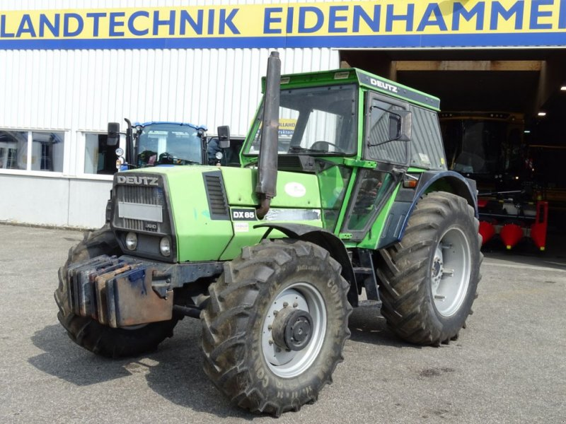 Traktor des Typs Deutz-Fahr DX 85 A, Gebrauchtmaschine in Burgkirchen (Bild 1)