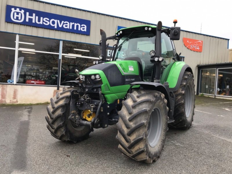 Traktor a típus Deutz-Fahr Tracteur agricole AGROTRON6160TTV Deutz-Fahr, Gebrauchtmaschine ekkor: LA SOUTERRAINE (Kép 1)