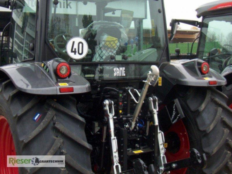"""Traktor des Typs Deutz-Same Explorer 110 GS """"Sondermodell"""", Neumaschine in Nördlingen (Bild 9)"""