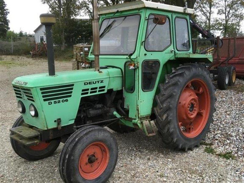 Traktor типа Deutz 5206, Gebrauchtmaschine в Odense SV (Фотография 1)