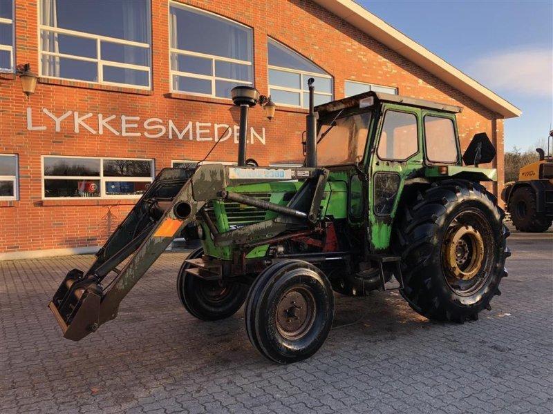 Traktor a típus Deutz 6806 MED servostyring og dobbeltvirkende frontlæsser!, Gebrauchtmaschine ekkor: Gjerlev J. (Kép 1)