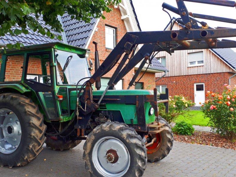 Traktor des Typs Deutz 7206 Frontlader+Lenkhilfe, Gebrauchtmaschine in Kutenholz (Bild 1)
