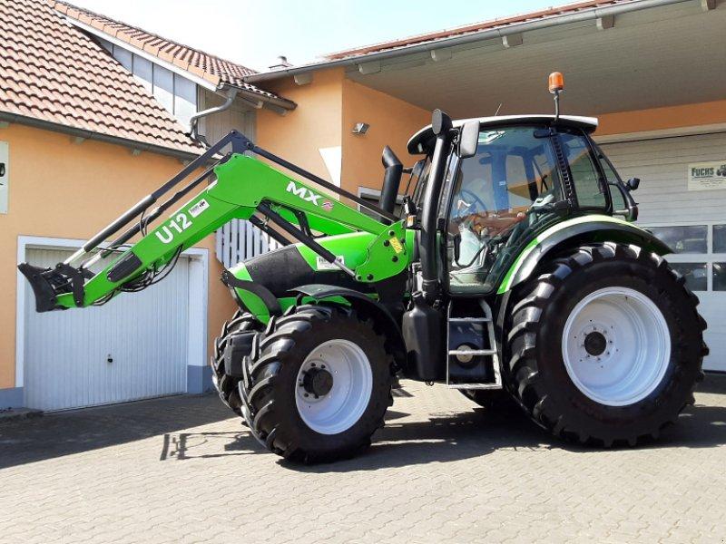 Traktor typu Deutz Agrotron M610 Profiline mit Industriefrontlader, Gebrauchtmaschine w Laaber (Zdjęcie 1)