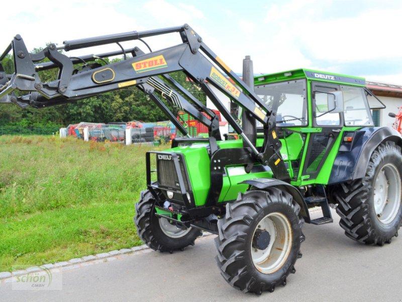 Traktor des Typs Deutz DX 85 mit Frontlader - im Topzustand !!!, Gebrauchtmaschine in Burgrieden (Bild 1)