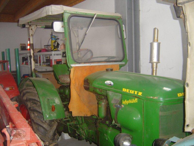Traktor типа Deutz F2L 514/53-I Oldtimer, Bj.1954, 30PS, Luftgekühlt, Dach, Bastlerfahrzeug., Gebrauchtmaschine в Tschirn (Фотография 1)