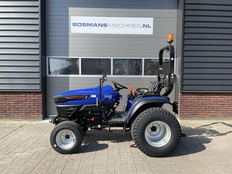 Traktor типа Farmtrac FT26 4WD 24.5 PK minitractor NIEUW / GAZONBANDEN, Gebrauchtmaschine в Neer (Фотография 1)