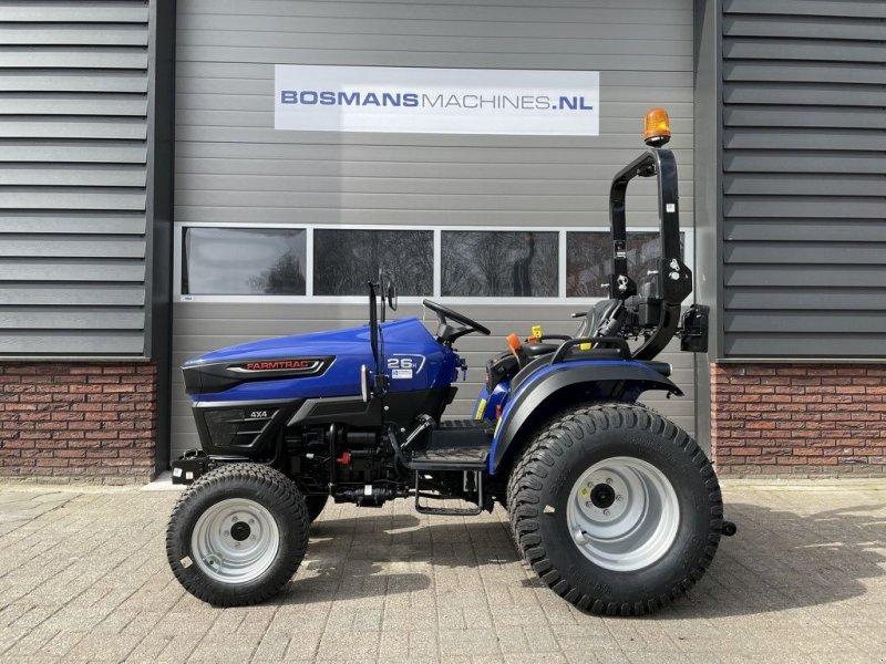 Traktor des Typs Farmtrac FT26 HST minitractor op gazonbanden, Gebrauchtmaschine in Neer (Bild 1)