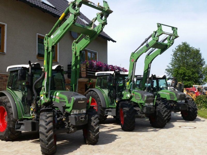 Traktor des Typs Fendt 207 Vario, Gebrauchtmaschine in Reuth (Bild 1)