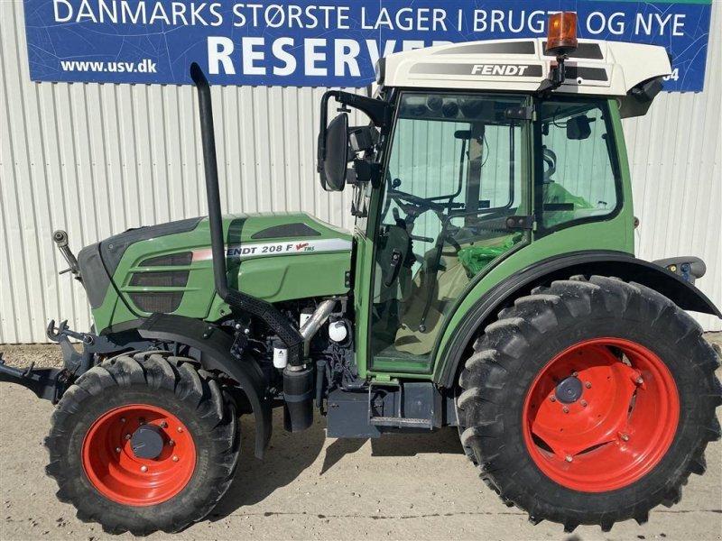 Traktor des Typs Fendt 208 F Vario TMS Profi med F-PTO, Gebrauchtmaschine in Rødekro (Bild 1)