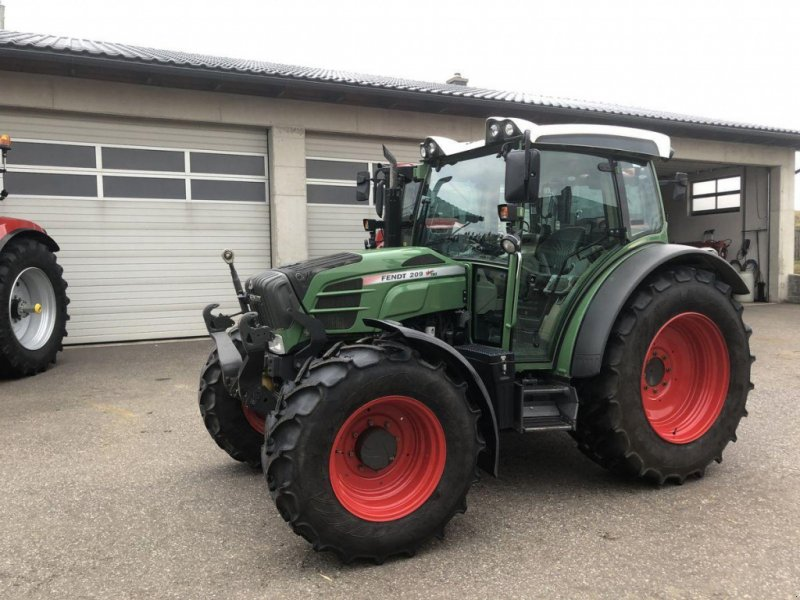 Traktor des Typs Fendt 209 Vario, Gebrauchtmaschine in Traberg (Bild 1)