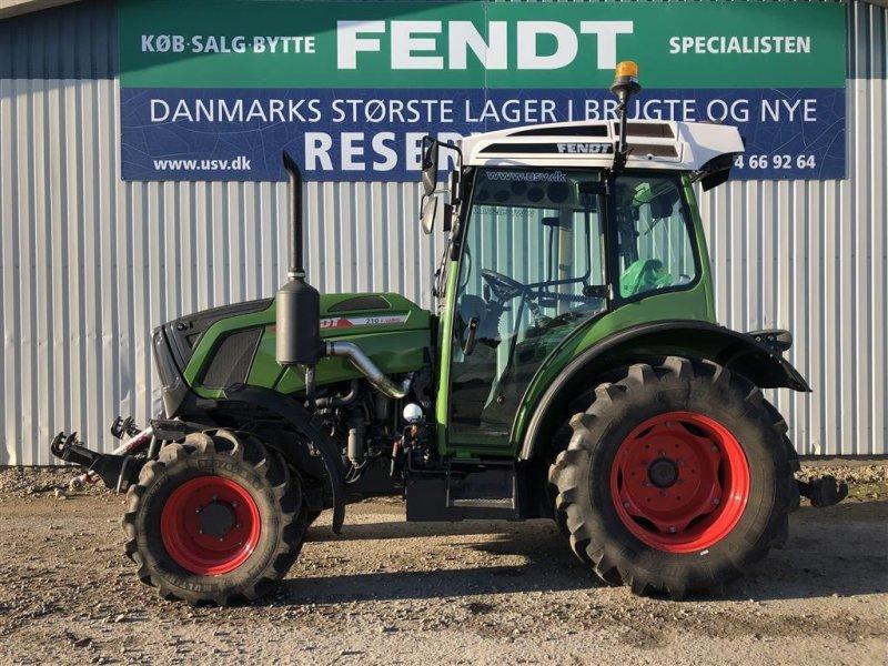 Traktor типа Fendt 210 VARIO TMS F Model, Gebrauchtmaschine в Rødekro (Фотография 1)