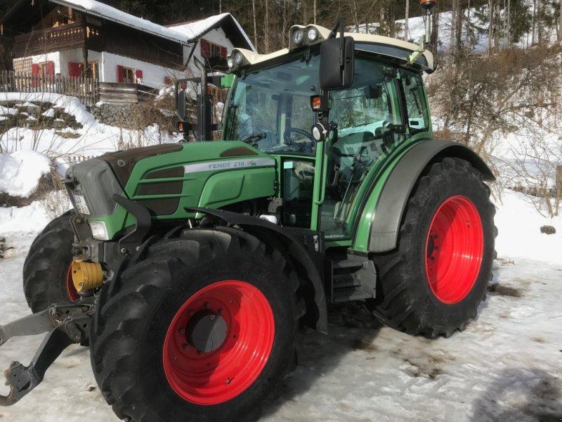 Traktor des Typs Fendt 210 Vario TMS, Gebrauchtmaschine in Grainau (Bild 1)