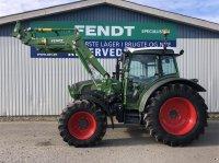 Fendt 211 Vario SCR med FL Fendt Cargo 3X65 Traktor