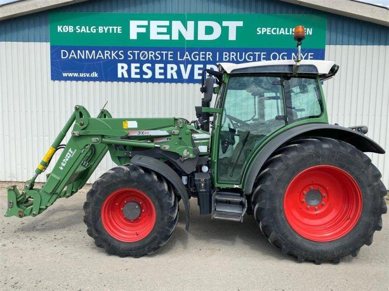 Traktor des Typs Fendt 211 Vario TMS med Fendt 3x65 frontlæsser, Gebrauchtmaschine in Rødekro (Bild 1)