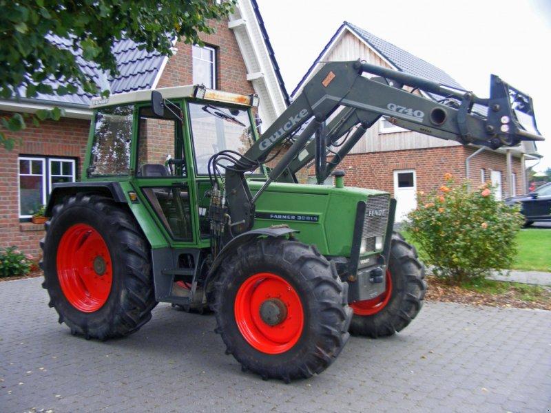 Traktor типа Fendt 308+ Frontlader, Gebrauchtmaschine в Kutenholz (Фотография 1)