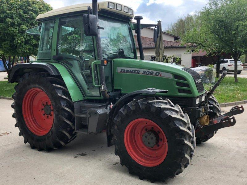 Traktor типа Fendt 309 CI mit FH,FZW, DL, Klima, 40km/h, Gebrauchtmaschine в Tiefensall (Фотография 1)