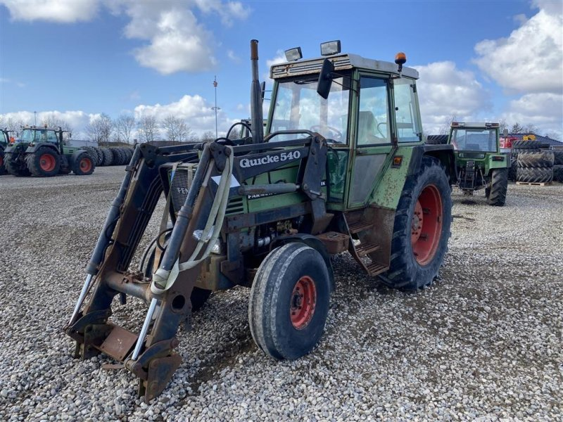 Traktor des Typs Fendt 310 LSA med frontlæsser Quicke 540, Gebrauchtmaschine in Rødekro (Bild 1)