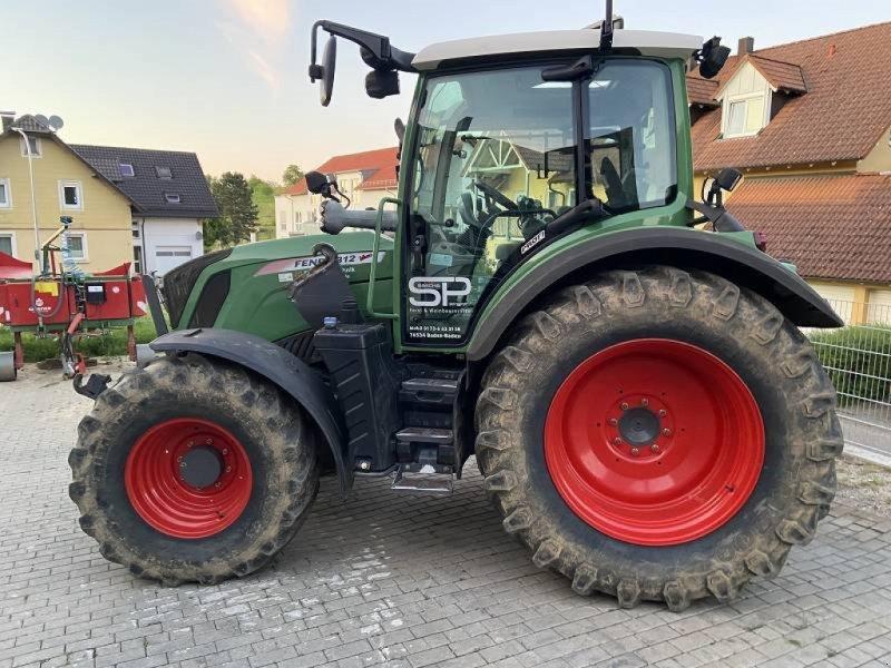 Traktor типа Fendt 312 S4 mit Frontlader bei 2678h Variogetriebe NEU, Gebrauchtmaschine в Schutterzell (Фотография 1)