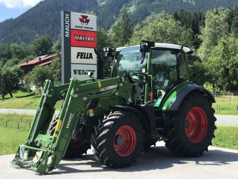 Traktor des Typs Fendt 313 Vario Power + FL Cargo 4X/75 DW, Neumaschine in Eben (Bild 2)