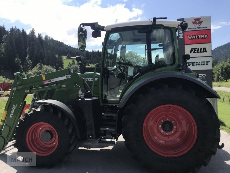 Traktor des Typs Fendt 313 Vario Power + FL Cargo 4X/75 DW, Neumaschine in Eben (Bild 9)