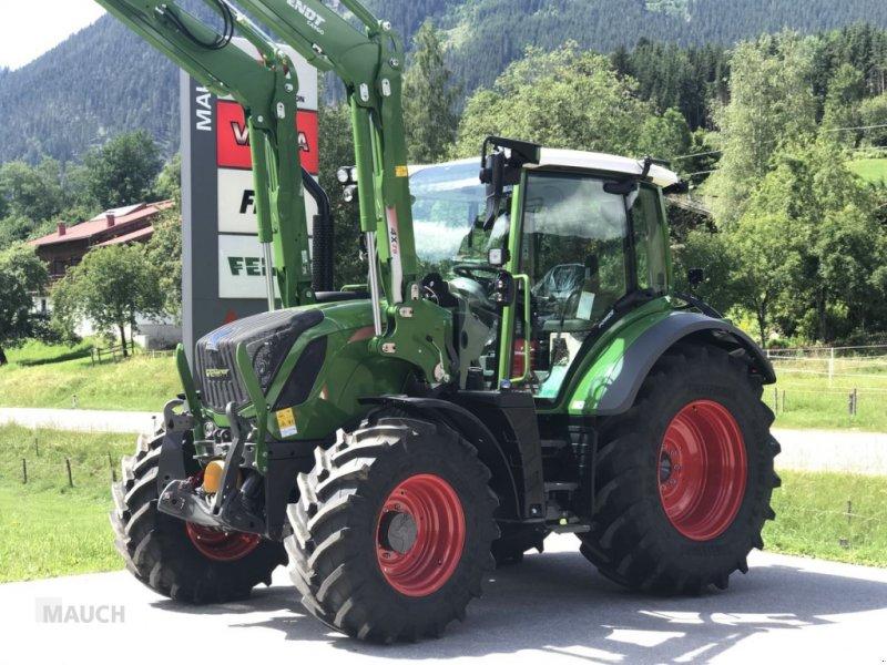 Traktor des Typs Fendt 313 Vario Power + FL Cargo 4X/75 DW, Neumaschine in Eben (Bild 1)