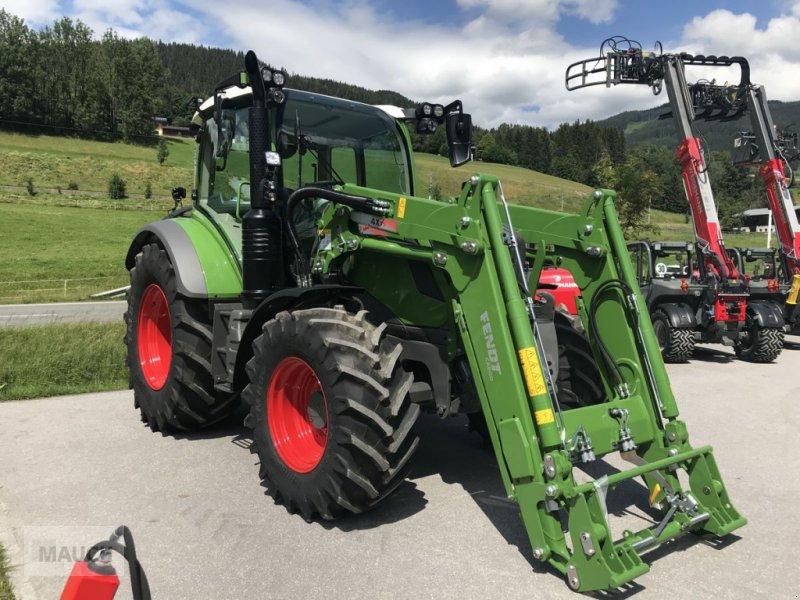 Traktor des Typs Fendt 313 Vario Power + FL Cargo 4X/75 DW, Neumaschine in Eben (Bild 4)