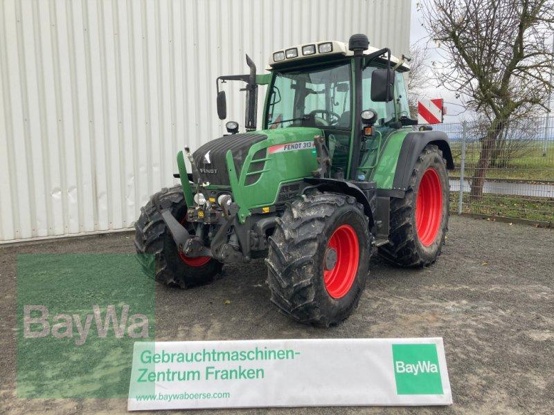 Traktor des Typs Fendt 313 Vario SCR, Gebrauchtmaschine in Giebelstadt (Bild 1)