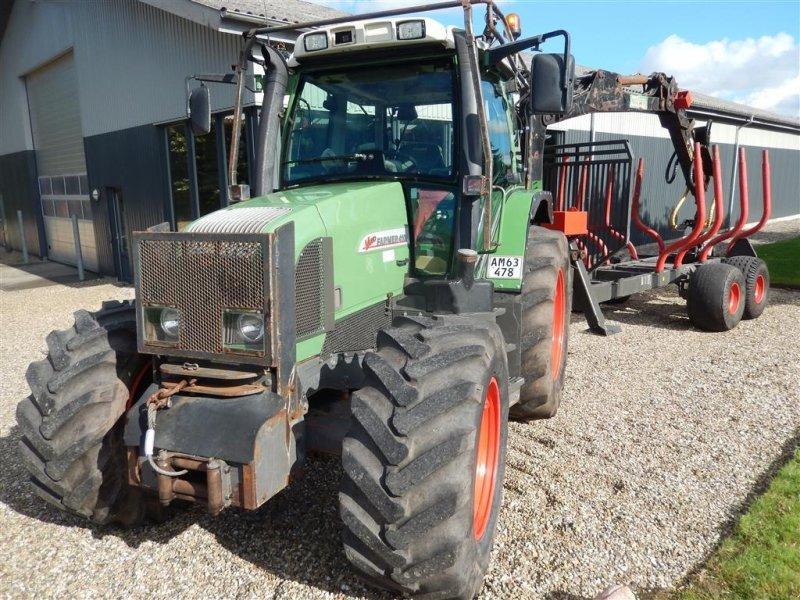Traktor des Typs Fendt 410 skovindækning og skovvogn, Gebrauchtmaschine in Vildbjerg (Bild 1)