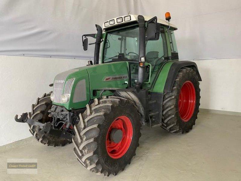 Traktor des Typs Fendt 411 Vario gernaralüberholter Motor 10 BH Klima Druckluft, SHZ, GRA 50 km/h, Gebrauchtmaschine in Hausen (Bild 1)