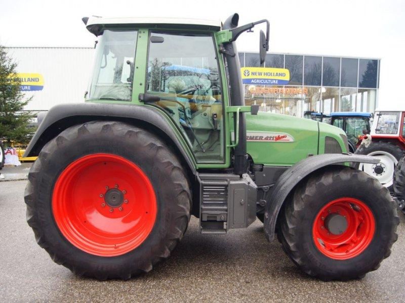 Traktor des Typs Fendt 411 Vario, Gebrauchtmaschine in Burgkirchen (Bild 5)