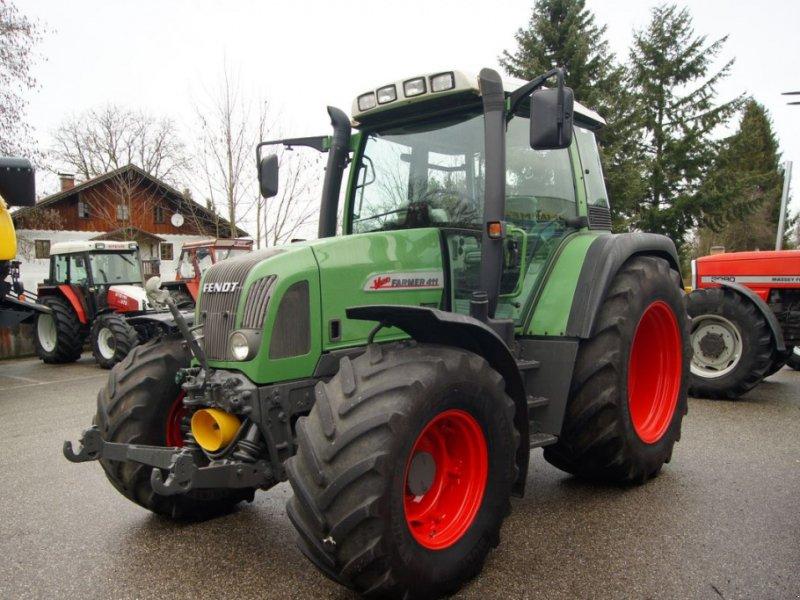 Traktor des Typs Fendt 411 Vario, Gebrauchtmaschine in Burgkirchen (Bild 8)