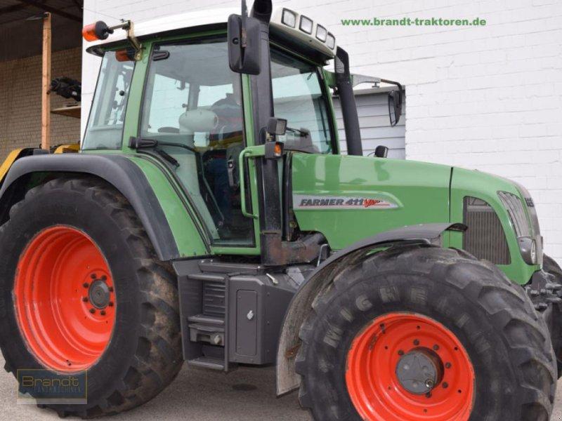 Traktor des Typs Fendt 411 Vario, Gebrauchtmaschine in Bremen (Bild 1)