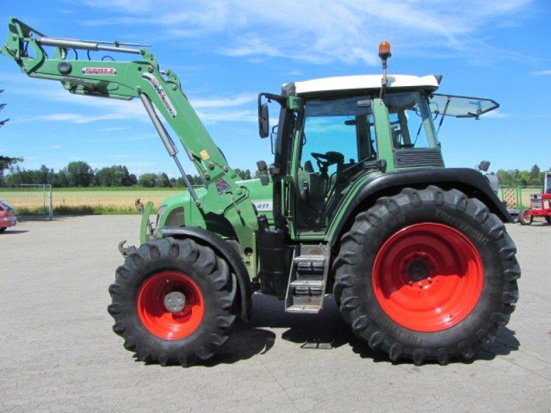 Traktor типа Fendt 411 Vario, Gebrauchtmaschine в Achern (Фотография 2)