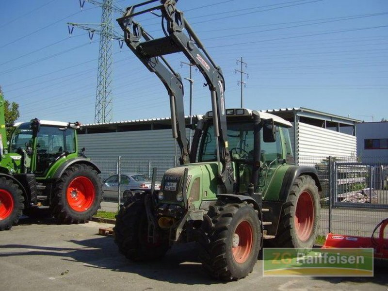 Traktor des Typs Fendt 411 Vario, Gebrauchtmaschine in Weil am Rhein-Haltingen (Bild 1)