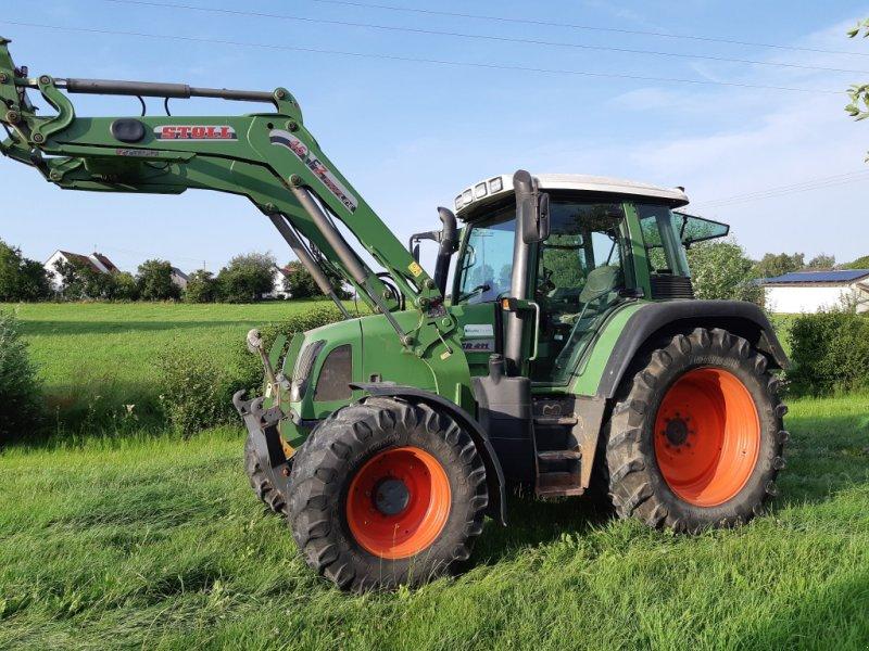 Traktor des Typs Fendt 411 Vario, Gebrauchtmaschine in Binswangen (Bild 1)