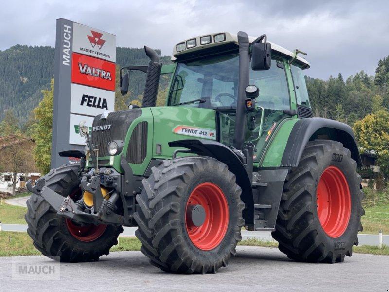Traktor des Typs Fendt 412 Vario + FH+FZW, Gebrauchtmaschine in Eben (Bild 1)