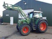 Fendt 412 vario met Stoll frontlader Traktor