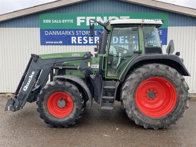 Traktor typu Fendt 412 Vario TMS Med Quicke Q55 frontlæsser, Gebrauchtmaschine w Rødekro (Zdjęcie 1)