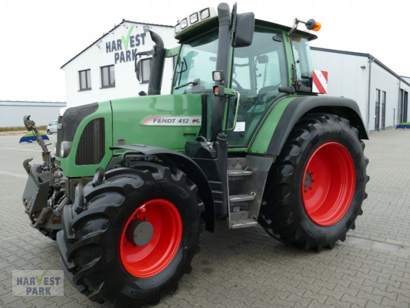 Traktor a típus Fendt 412 Vario TMS, Gebrauchtmaschine ekkor: Emsbüren (Kép 1)