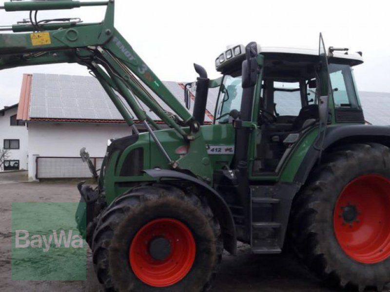 Traktor του τύπου Fendt 412 Vario TMS, Gebrauchtmaschine σε Niederviehbach (Φωτογραφία 1)