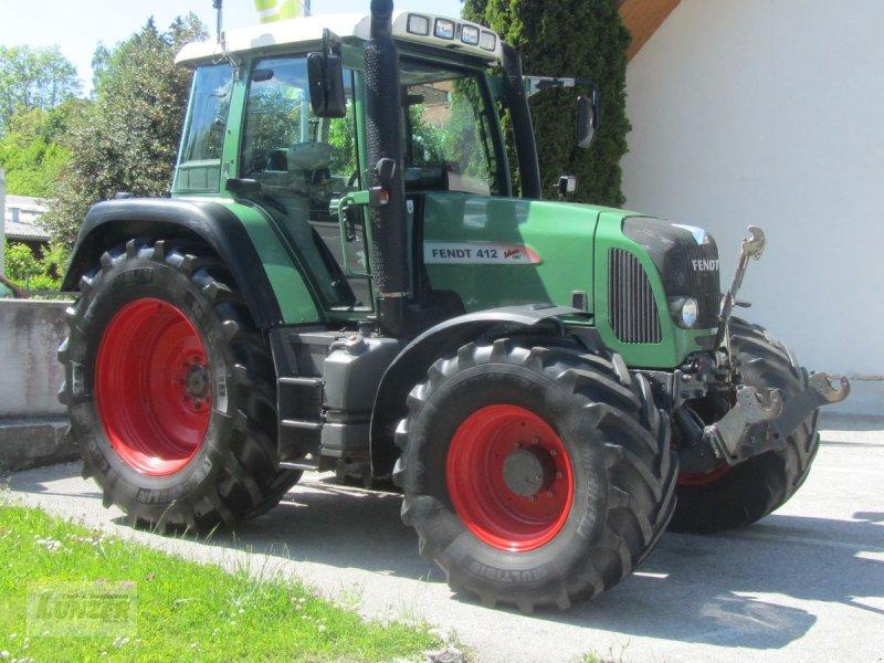 Traktor des Typs Fendt 412 Vario TMS, Gebrauchtmaschine in Kaumberg (Bild 1)