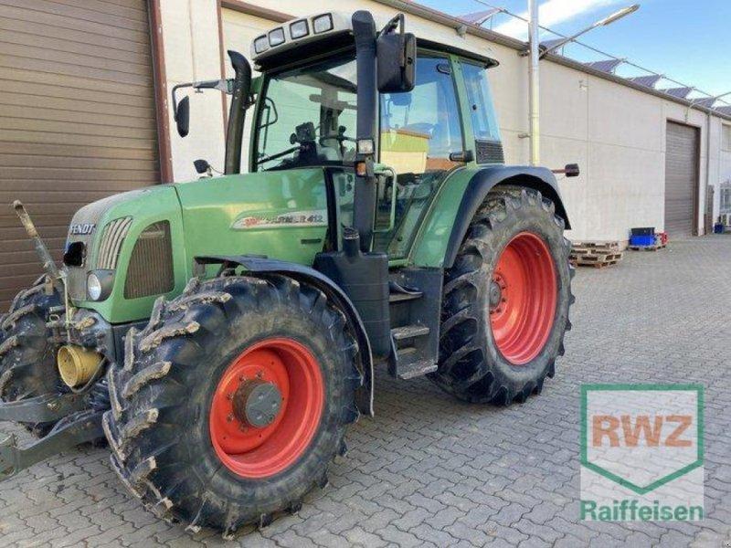 Traktor des Typs Fendt 412 Vario, Gebrauchtmaschine in Herxheim (Bild 1)