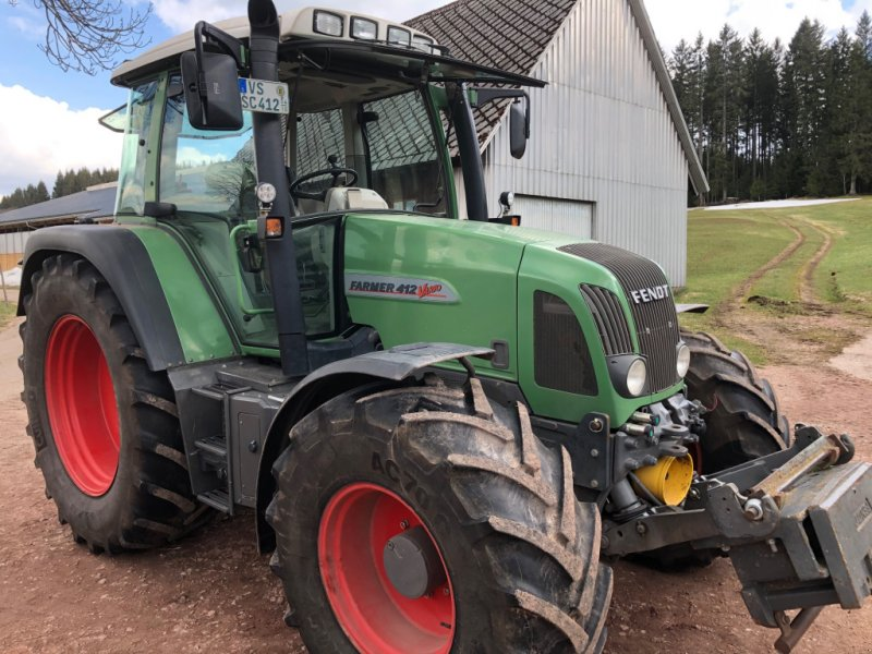 Traktor a típus Fendt 412  Vario, Gebrauchtmaschine ekkor: Donaueschingen (Kép 1)