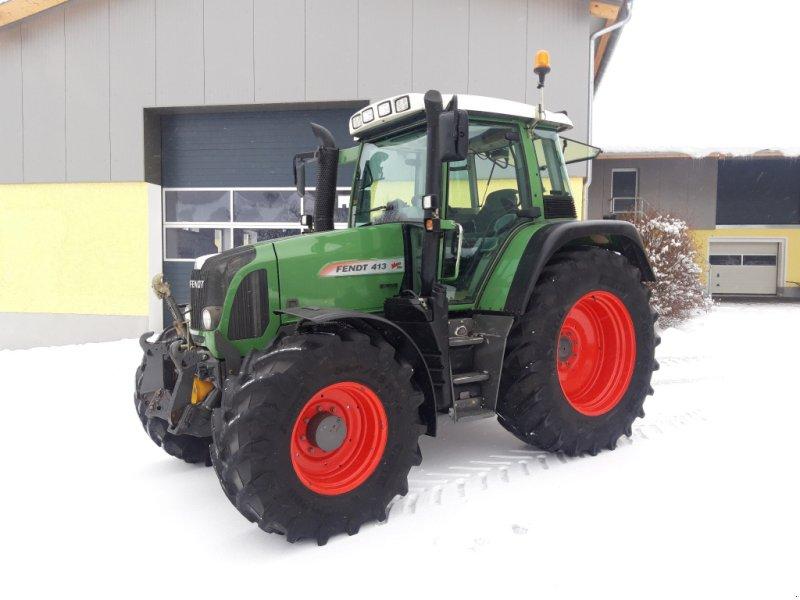 Traktor типа Fendt 413 Vario TMS, Gebrauchtmaschine в Tirschenreuth (Фотография 1)