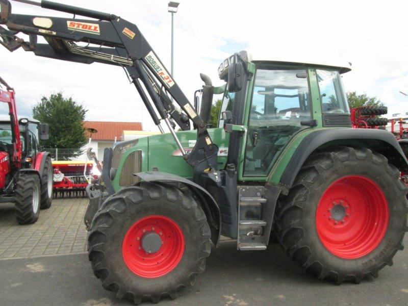 Traktor des Typs Fendt 414 Vario TMS, Gebrauchtmaschine in Wülfershausen an der Saale (Bild 4)