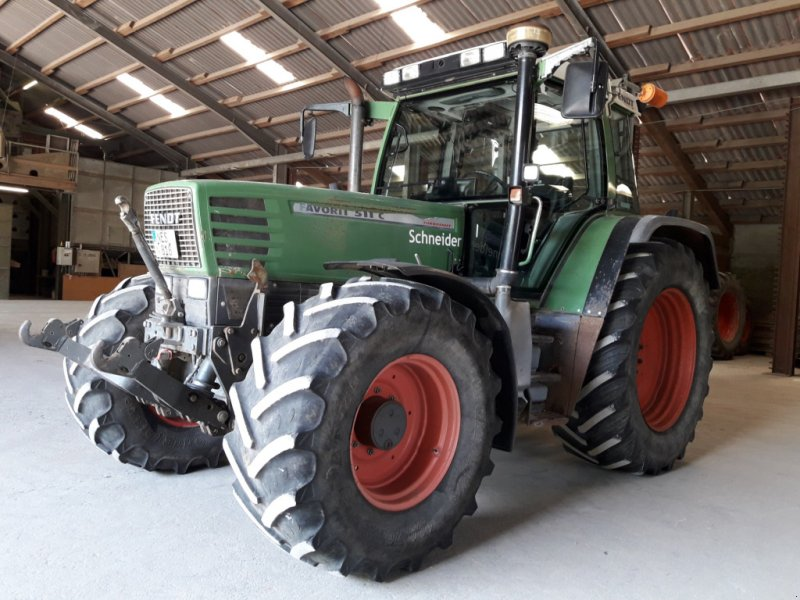 Traktor des Typs Fendt 511 C, Gebrauchtmaschine in Heustreu (Bild 1)